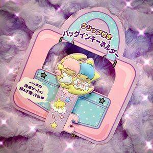 Kawaii Little Twin Stars Keychain Bag Clip: Sanrio